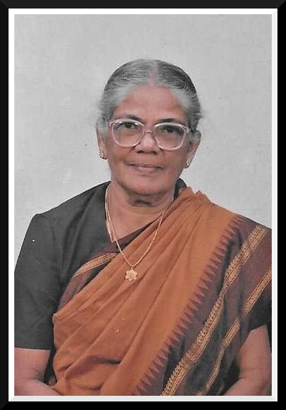 Obituary Photo- Mrs. M.G.Chelliah